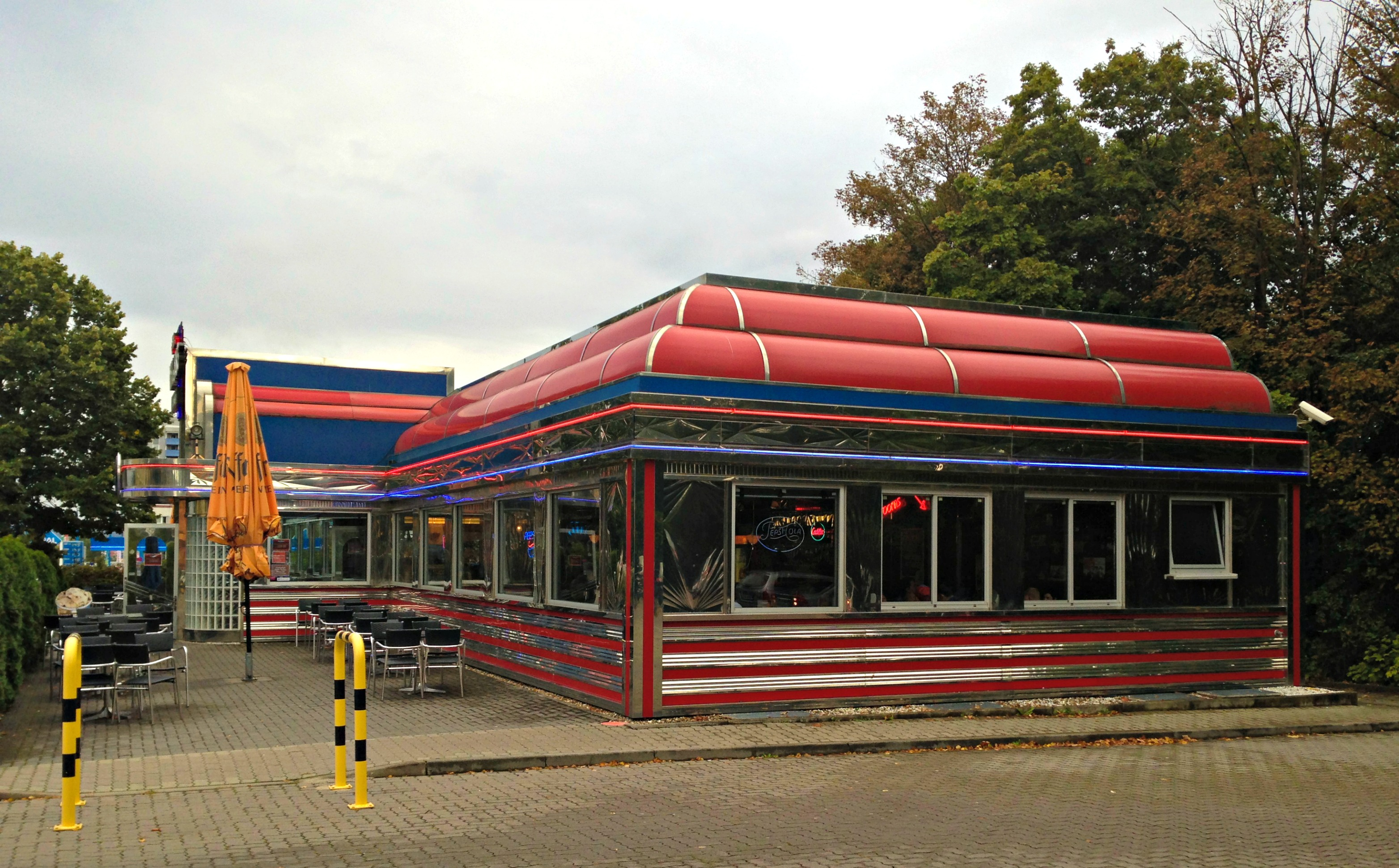 An american classic in germany a picture a day for American classic diner
