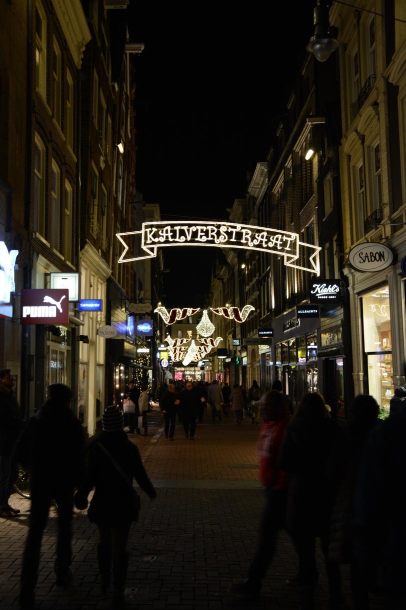 Christmas Street Amsterdam