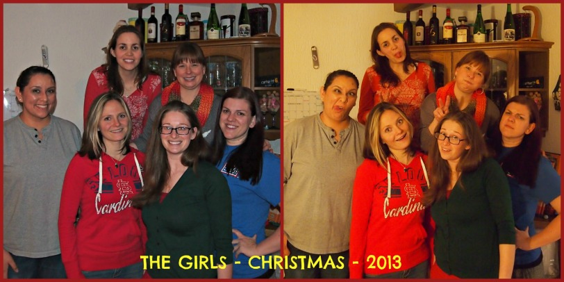 THE GRILS CHRISTMAS 2013