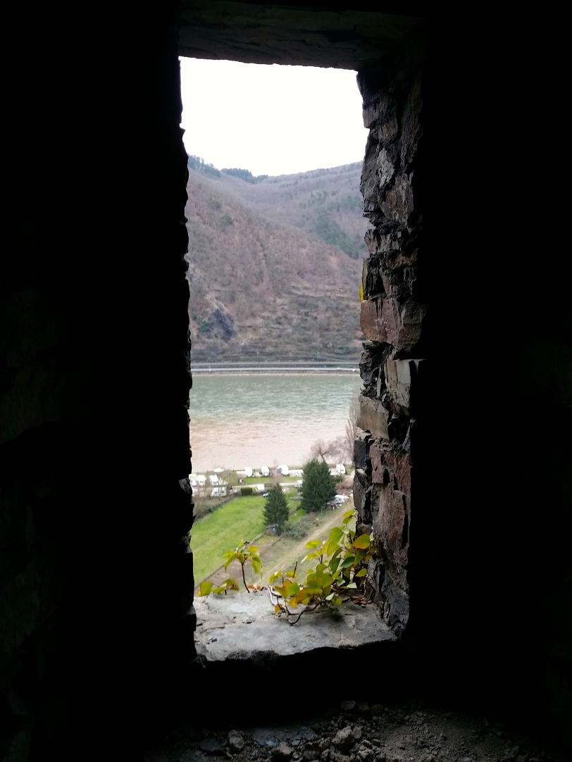 Castel wall looking at Rhine River