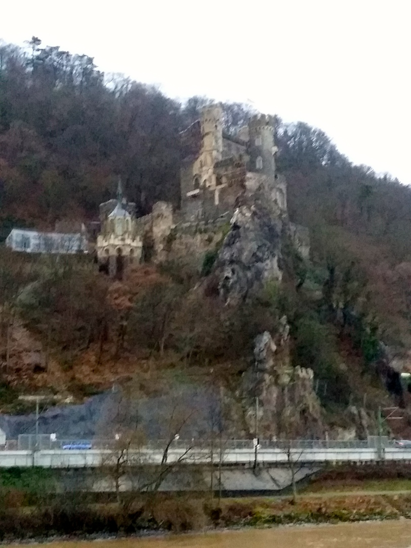 Castle on Rhine River