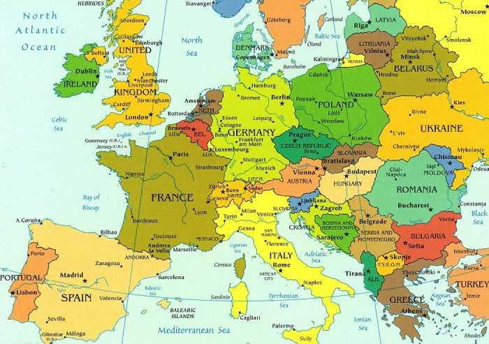 carte-europe-ville